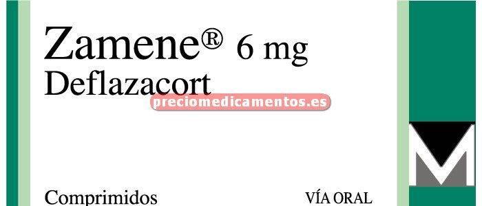 Caja ZAMENE 6 mg 20 comprimidos