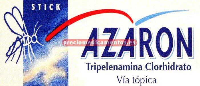 Caja AZARON 2% stick 5,75 g