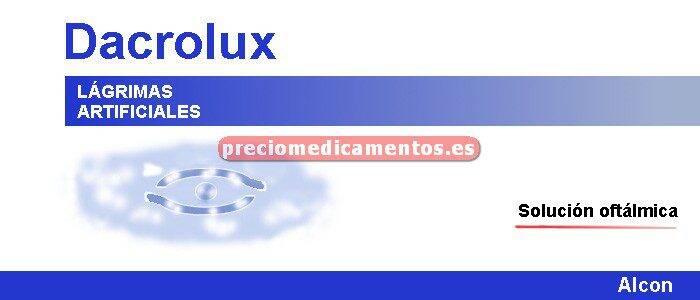 Caja DACROLUX colirio 10 ml