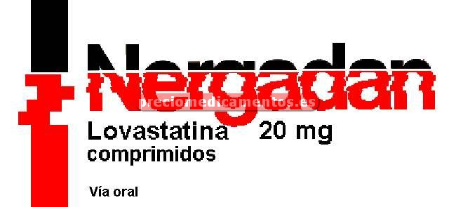 Caja NERGADAN 20 mg 28 comprimidos