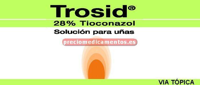 Caja TROSID UÑAS 28% solución 12 ml