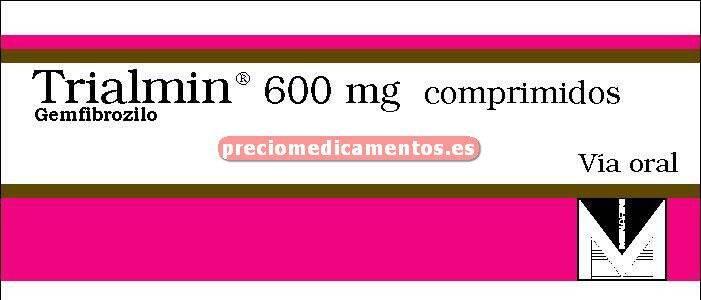 Caja TRIALMIN 600 mg 60 comprimidos
