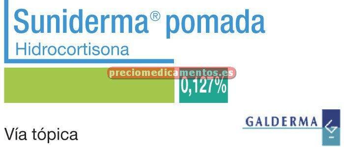Caja SUNIDERMA 0.127% pomada 30 g