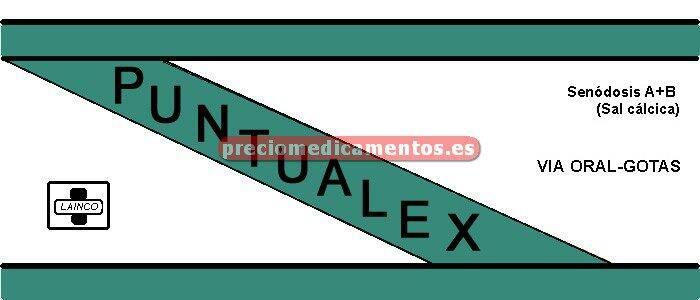 Caja PUNTUALEX 150 mg/5 ml solución 5 ml UNIDOSIS