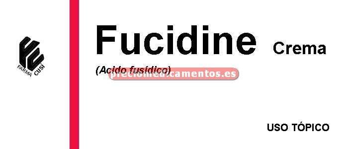 Caja FUCIDINE 2% crema 15 g
