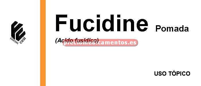 Caja FUCIDINE 2% pomada 15 g