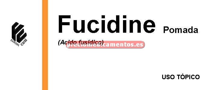 Caja FUCIDINE 2% pomada 30 g