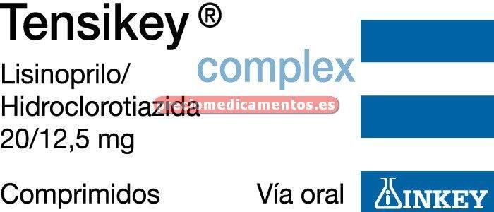 Caja TENSIKEY COMPLEX 20/12,5 mg 28 comprimidos